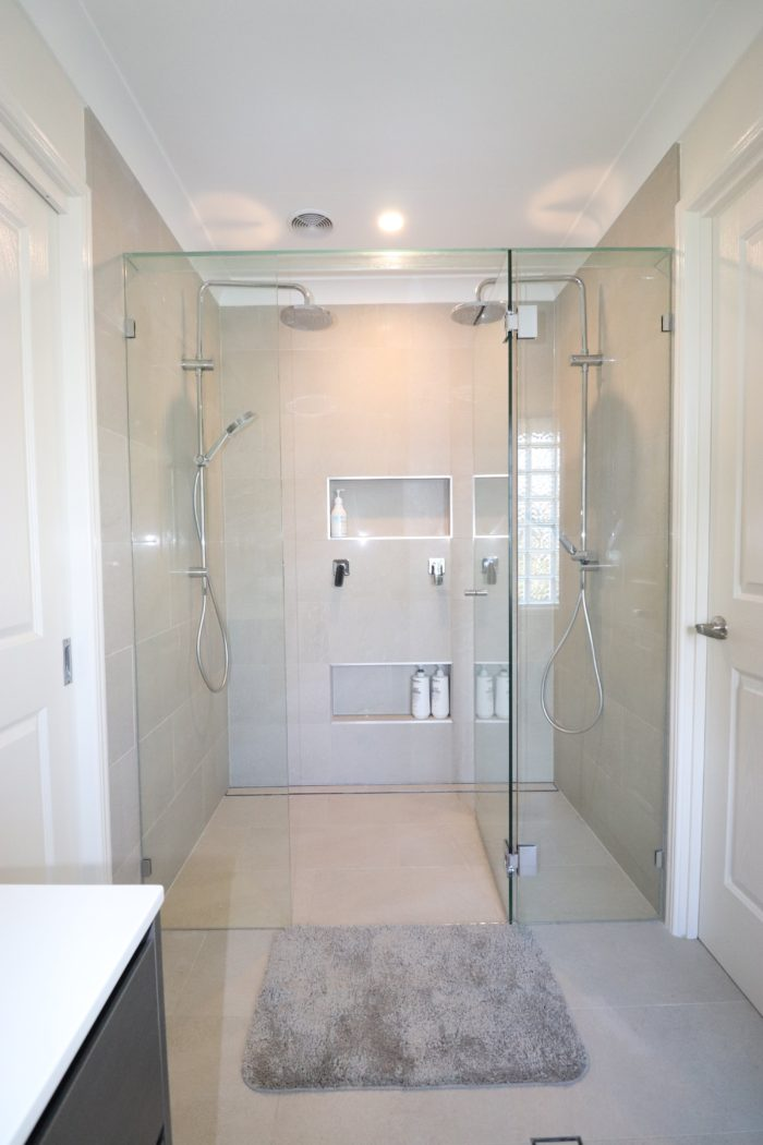 Ken Mckay Homes - Bathroom Renovation Ensuite shower